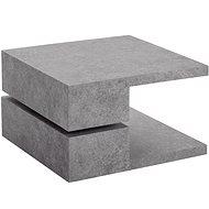 Danish Style Konferenční stolek Pac, 60 cm, pohledový beton - Konferenční stolek