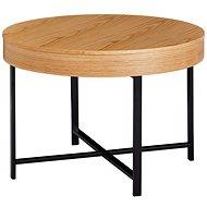 Brüxxi Konferenční stolek Ema, 69 cm, dub - Konferenční stolek