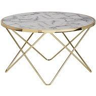 Brüxxi Konferenční stolek Galla, 85 cm, zlatá