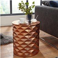 Brüxxi Odkládací stolek Fatos, 48 cm, měděná - Odkládací stolek