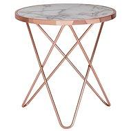 Brüxxi Odkládací stolek Galla, 57 cm, měděná