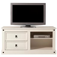 Danish Style TV table Alfred, 120 cm, white