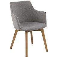 Design Scandinavia Barley, šedé - Konferenční křeslo