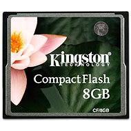 Kingston Compact Flash 8GB - Paměťová karta