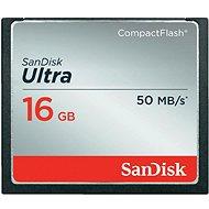 SanDisk Compact Flash 16GB Ultra - Paměťová karta