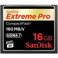 SanDisk Compact Flash 16GB 1000x Extreme Pro - Paměťová karta