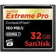 SanDisk Compact Flash 32GB 1000x Extreme Pro - Paměťová karta