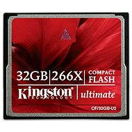 Kingston Compact Flash 32GB 266x Ultimate - Paměťová karta