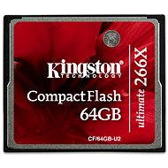 Kingston Compact Flash 64GB 266x Ultimate - Paměťová karta
