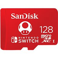 SanDisk MicroSDXC 128GB Nintendo Switch A1 UHS-I (V30) U3 - Paměťová karta