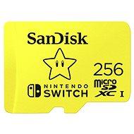 Sandisk MicroSDXC 256GB Nintendo Switch - Paměťová karta