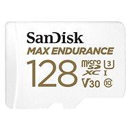 SanDisk MicroSDXC 128GB Max Endurance + SD adaptér - Paměťová karta