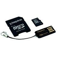 Kingston MicroSDHC 8GB Class 4 + SD adaptér a USB čtečka - Paměťová karta