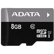 ADATA MicroSDHC 8GB Class 10 - Paměťová karta