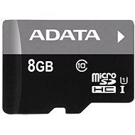 ADATA MicroSDHC 8GB UHS-I Class 10 + OTG čtečka - Paměťová karta