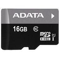 ADATA MicroSDHC 16GB UHS-I Class 10 + OTG čtečka - Paměťová karta