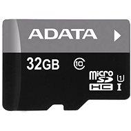 ADATA MicroSDHC 32GB UHS-I Class 10 + OTG čtečka - Paměťová karta