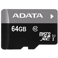ADATA MicroSDXC 64GB UHS-I Class 10 + OTG čtečka - Paměťová karta