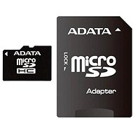 ADATA MicroSDHC 32GB Class 4 + SD adaptér - Paměťová karta