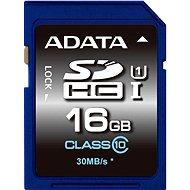 ADATA Premier SDHC 16GB UHS-I Class 10 - Paměťová karta