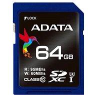 ADATA Premier Pro SDXC 64GB UHS-I U3 - Paměťová karta