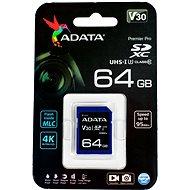 ADATA Premier Pro V30S SDXC 64GB UHS-I U3 - Paměťová karta