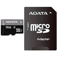 ADATA Premier MicroSDHC 16GB UHS-I + SDHC adaptér - Paměťová karta
