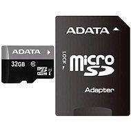 ADATA Premier MicroSDHC 32GB UHS-I + SDHC adaptér - Paměťová karta