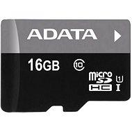 ADATA Premier micro SDHC 16GB UHS-I A1 Class 10 - Paměťová karta