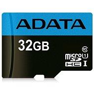 ADATA Premier micro SDHC 32GB UHS-I A1 Class 10 - Paměťová karta