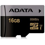 ADATA Premier MicroSDHC 16GB UHS-I U3 Class 10 - Paměťová karta