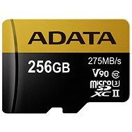 ADATA Premier ONE MicroSDXC 256GB UHS-II U3 Class 10 - Paměťová karta