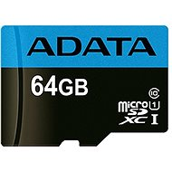 ADATA Premier MicroSDXC 64GB UHS-I Class 10 - Paměťová karta