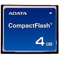 ADATA Compact Flash Industrial SLC 4GB, bulk - Paměťová karta