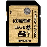 Kingston SDHC 16GB UHS-I Class 10 - Paměťová karta
