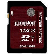 Kingston SDXC 128GB UHS-I Speed Class 3 - Paměťová karta