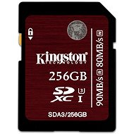 Kingston SDXC 256GB UHS-I Speed Class 3 - Paměťová karta