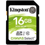 Kingston Canvas Select SDHC 16GB UHS-I U1 - Paměťová karta