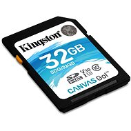 Kingston Canvas Go! SDHC 32GB UHS-I U3 - Paměťová karta