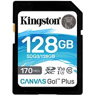Kingston SDXC 128GB Canvas Go! Plus - Paměťová karta