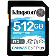 Kingston Canvas Go! Plus SDXC 512GB - Paměťová karta
