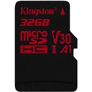 Kingston Canvas React MicroSDHC 32GB A1 UHS-I V30 - Paměťová karta