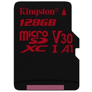 Kingston Canvas React MicroSDXC 128GB A1 UHS-I V30 - Paměťová karta