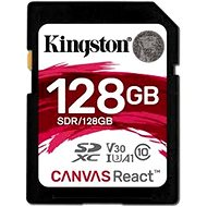 Kingston Canvas React SDXC 128GB A1 UHS-I V30 - Paměťová karta