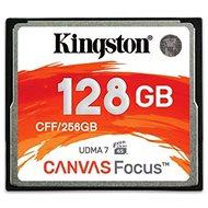 Kingston Compact Flash 128GB Canvas Focus - Paměťová karta