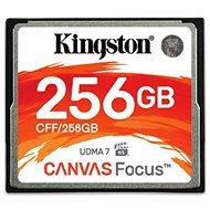 Kingston Compact Flash 256GB Canvas Focus - Paměťová karta