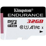 Kingston Endurance microSDXC 32GB A1 UHS-I Class 10 - Paměťová karta