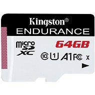 Kingston Endurance microSDXC 64GB A1 UHS-I Class 10 - Paměťová karta