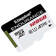 Kingston Endurance microSDXC 128GB A1 UHS-I Class 10 - Paměťová karta