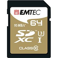 EMTEC SDXC 64GB Speed`In Class 10 UHS-I U3
